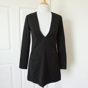 Nasty Gal Little Black Blazer Dress